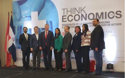 """THINK ECONOMICS """"Radiografía de la economía dominicana y oportunidades de la nueva ley de lavado de activos"""""""